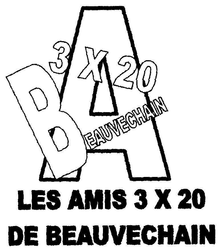 Les Amis des 3 x 20 de Beauvechain